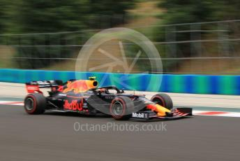 World © Octane Photographic Ltd. Formula 1 – Hungarian GP - Practice 2. Aston Martin Red Bull Racing RB15 – Pierre Gasly. Hungaroring, Budapest, Hungary. Friday 2nd August 2019.