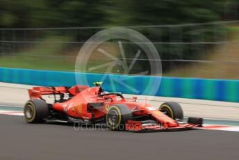 World © Octane Photographic Ltd. Formula 1 – Hungarian GP - Practice 2. Scuderia Ferrari SF90 – Charles Leclerc. Hungaroring, Budapest, Hungary. Friday 2nd August 2019.