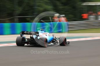 World © Octane Photographic Ltd. Formula 1 – Hungarian GP - Practice 2. ROKiT Williams Racing FW42 – Robert Kubica. Hungaroring, Budapest, Hungary. Friday 2nd August 2019.