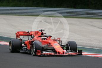 World © Octane Photographic Ltd. Formula 1 – Hungarian GP - Practice 2. Scuderia Ferrari SF90 – Sebastian Vettel. Hungaroring, Budapest, Hungary. Friday 2nd August 2019.