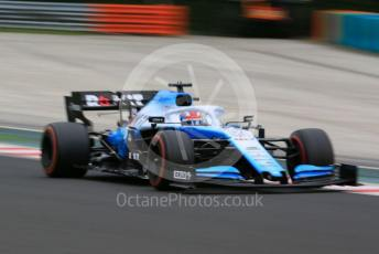 World © Octane Photographic Ltd. Formula 1 – Hungarian GP - Practice 2. ROKiT Williams Racing FW 42 – George Russell. Hungaroring, Budapest, Hungary. Friday 2nd August 2019.