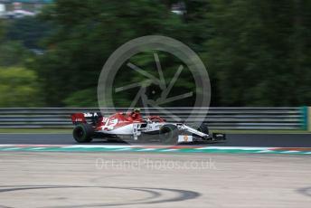 World © Octane Photographic Ltd. Formula 1 – Hungarian GP - Practice 2. Alfa Romeo Racing C38 – Antonio Giovinazzi. Hungaroring, Budapest, Hungary. Friday 2nd August 2019.