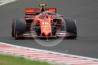 World © Octane Photographic Ltd. Formula 1 – Hungarian GP - Practice 3. Scuderia Ferrari SF90 – Charles Leclerc. Hungaroring, Budapest, Hungary. Saturday 3rd August 2019.