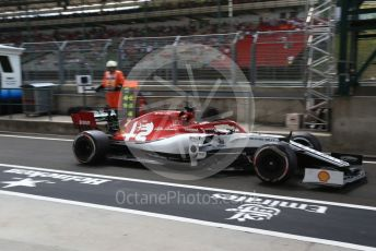 World © Octane Photographic Ltd. Formula 1 – Hungarian GP - Practice 3. Alfa Romeo Racing C38 – Kimi Raikkonen. Hungaroring, Budapest, Hungary. Saturday 3rd August 2019.