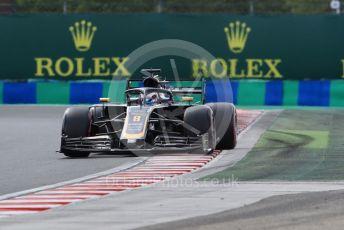 World © Octane Photographic Ltd. Formula 1 – Hungarian GP - Qualifying. Rich Energy Haas F1 Team VF19 – Romain Grosjean. Hungaroring, Budapest, Hungary. Saturday 3rd August 2019.