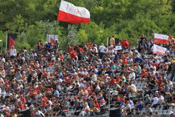 World © Octane Photographic Ltd. Formula 1 – Hungarian GP - Qualifying. ROKiT Williams Racing - Robert Kubica fans. Hungaroring, Budapest, Hungary. Saturday 3rd August 2019.