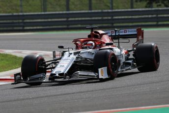 World © Octane Photographic Ltd. Formula 1 – Hungarian GP - Qualifying. Alfa Romeo Racing C38 – Kimi Raikkonen. Hungaroring, Budapest, Hungary. Saturday 3rd August 2019.
