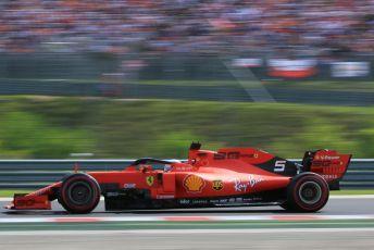 World © Octane Photographic Ltd. Formula 1 – Hungarian GP - Qualifying. Scuderia Ferrari SF90 – Sebastian Vettel. Hungaroring, Budapest, Hungary. Saturday 3rd August 2019.