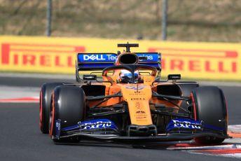 World © Octane Photographic Ltd. Formula 1 – Hungarian GP - Qualifying. McLaren MCL34 – Carlos Sainz. Hungaroring, Budapest, Hungary. Saturday 3rd August 2019.