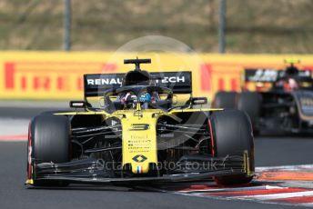 World © Octane Photographic Ltd. Formula 1 – Hungarian GP - Qualifying. Renault Sport F1 Team RS19 – Daniel Ricciardo. Hungaroring, Budapest, Hungary. Saturday 3rd August 2019.