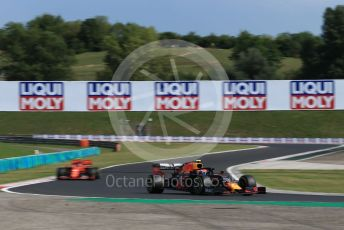 World © Octane Photographic Ltd. Formula 1 – Hungarian GP - Qualifying. Aston Martin Red Bull Racing RB15 – Pierre Gasly. Hungaroring, Budapest, Hungary. Saturday 3rd August 2019.