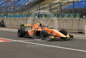 World © Octane Photographic Ltd. FIA Formula 2 (F2) – Hungarian GP - Practice. Campos Racing - Jack Aitken. Hungaroring, Budapest, Hungary. Friday 2nd August 2019.