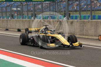 World © Octane Photographic Ltd. FIA Formula 2 (F2) – Hungarian GP - Practice. Virtuosi Racing - Guanyu Zhou. Hungaroring, Budapest, Hungary. Friday 2nd August 2019.