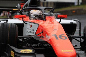 World © Octane Photographic Ltd. FIA Formula 2 (F2) – Hungarian GP - Qualifying. MP Motorsport – Jordan King. Hungaroring, Budapest, Hungary. Friday 2nd August 2019.