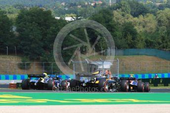 World © Octane Photographic Ltd. FIA Formula 2 (F2) – Hungarian GP - Race 1. Virtuosi Racing - Guanyu Zhou. Hungaroring, Budapest, Hungary. Saturday 3rd August 2019.