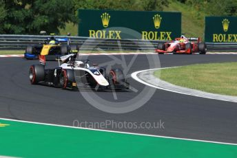 World © Octane Photographic Ltd. FIA Formula 2 (F2) – Hungarian GP - Race 1. ART Grand Prix - Nyck de Vries and Virtuosi Racing - Luca Ghiotto. Hungaroring, Budapest, Hungary. Saturday 3rd August 2019.