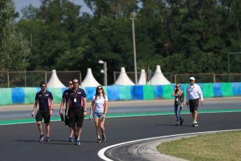 World © Octane Photographic Ltd. FIA Formula 2 (F2) – Hungarian GP - Trackwalk. BWT Arden - Tatiana Calderon. Hungaroring, Budapest, Hungary. Thursday 1st August 2019.