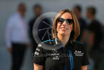 World © Octane Photographic Ltd. Formula 1 - Hungarian GP - Paddock. Claire Williams - Deputy Team Principal of ROKiT Williams Racing. Hungaroring, Budapest, Hungary. Saturday 3rd August 2019.