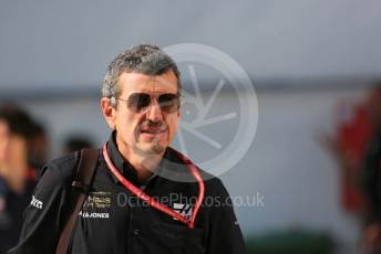 World © Octane Photographic Ltd. Formula 1 - Hungarian GP - Paddock. Guenther Steiner  - Team Principal of Rich Energy Haas F1 Team. Hungaroring, Budapest, Hungary. Saturday 3rd August 2019.