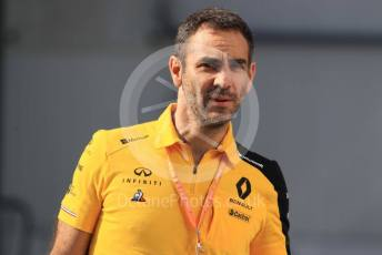 World © Octane Photographic Ltd. Formula 1 - Hungarian GP - Paddock. Cyril Abiteboul - Managing Director of Renault Sport Racing Formula 1 Team. Hungaroring, Budapest, Hungary. Sunday 4th August 2019.