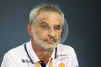 World © Octane Photographic Ltd. Formula 1 - Hungarian GP – Friday FIA Team Press Conference. Beat Zehnder – Team Manager Alfa Romeo Racing. Hungaroring, Budapest, Hungary. Friday 2nd August 2019.