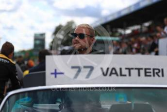 World © Octane Photographic Ltd. Formula 1 – Italian GP - Drivers Parade. Mercedes AMG Petronas Motorsport AMG F1 W10 EQ Power+ - Valtteri Bottas. Autodromo Nazionale Monza, Monza, Italy. Sunday 8th September 2019.