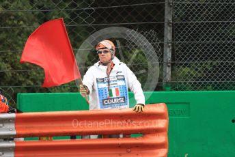 World © Octane Photographic Ltd. Formula 1 – Italian GP - Practice 1. Red Flag. Autodromo Nazionale Monza, Monza, Italy. Friday 6th September 2019.