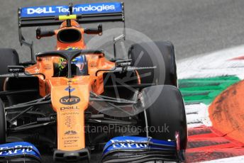 World © Octane Photographic Ltd. Formula 1 – Italian GP - Practice 2. McLaren MCL34 – Lando Norris. Autodromo Nazionale Monza, Monza, Italy. Friday 6th September 2019.