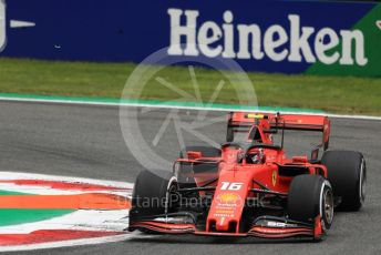 World © Octane Photographic Ltd. Formula 1 – Italian GP - Practice 2. Scuderia Ferrari SF90 – Charles Leclerc. Autodromo Nazionale Monza, Monza, Italy. Friday 6th September 2019.