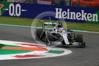 World © Octane Photographic Ltd. Formula 1 – Italian GP - Practice 2. Mercedes AMG Petronas Motorsport AMG F1 W10 EQ Power+ - Lewis Hamilton. Autodromo Nazionale Monza, Monza, Italy. Friday 6th September 2019.