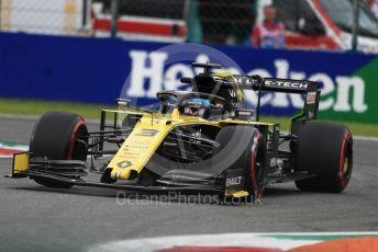 World © Octane Photographic Ltd. Formula 1 – Italian GP - Practice 2. Renault Sport F1 Team RS19 – Daniel Ricciardo. Autodromo Nazionale Monza, Monza, Italy. Friday 6th September 2019.