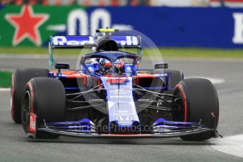 World © Octane Photographic Ltd. Formula 1 – Italian GP - Practice 2. Scuderia Toro Rosso - Pierre Gasly. Autodromo Nazionale Monza, Monza, Italy. Friday 6th September 2019.