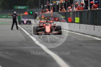 World © Octane Photographic Ltd. Formula 1 – Italian GP - Practice 2. Scuderia Ferrari SF90 – Sebastian Vettel. Autodromo Nazionale Monza, Monza, Italy. Friday 6th September 2019.