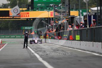 World © Octane Photographic Ltd. Formula 1 – Italian GP - Practice 2. SportPesa Racing Point RP19 – Lance Stroll. Autodromo Nazionale Monza, Monza, Italy. Friday 6th September 2019.