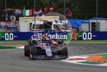 World © Octane Photographic Ltd. Formula 1 – Italian GP - Practice 2. Scuderia Toro Rosso STR14 – Daniil Kvyat. Autodromo Nazionale Monza, Monza, Italy. Friday 6th September 2019.