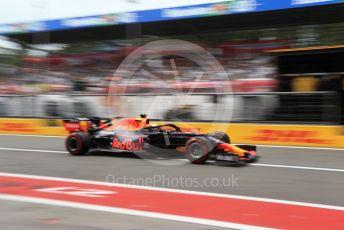 World © Octane Photographic Ltd. Formula 1 – Italian GP - Practice 3. Aston Martin Red Bull Racing RB15 – Max Verstappen. Autodromo Nazionale Monza, Monza, Italy. Saturday 7th September 2019.
