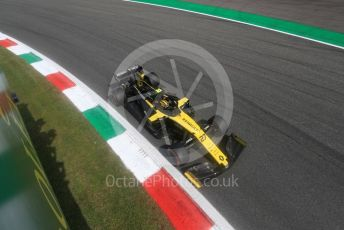 World © Octane Photographic Ltd. Formula 1 – Italian GP - Qualifying. Renault Sport F1 Team RS19 – Nico Hulkenberg. Autodromo Nazionale Monza, Monza, Italy. Saturday 7th September 2019.