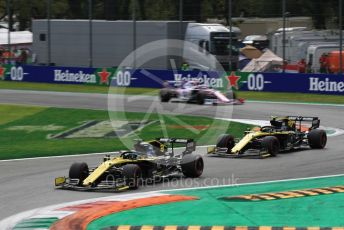 World © Octane Photographic Ltd. Formula 1 – Italian GP - Race. Renault Sport F1 Team RS19 – Daniel Ricciardo. Autodromo Nazionale Monza, Monza, Italy. Sunday 8th September 2019.