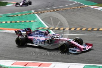 World © Octane Photographic Ltd. Formula 1 – Italian GP - Race. SportPesa Racing Point RP19 - Sergio Perez. Autodromo Nazionale Monza, Monza, Italy. Sunday 8th September 2019.
