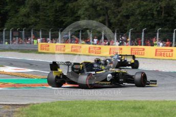 World © Octane Photographic Ltd. Formula 1 – Italian GP - Race. Renault Sport F1 Team RS19 – Nico Hulkenberg. Autodromo Nazionale Monza, Monza, Italy. Sunday 8th September 2019.