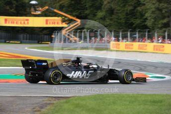 World © Octane Photographic Ltd. Formula 1 – Italian GP - Race. Rich Energy Haas F1 Team VF19 – Romain Grosjean. Autodromo Nazionale Monza, Monza, Italy. Sunday 8th September 2019.