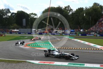 World © Octane Photographic Ltd. Formula 1 – Italian GP - Race. Mercedes AMG Petronas Motorsport AMG F1 W10 EQ Power+ - Lewis Hamilton. Autodromo Nazionale Monza, Monza, Italy. Sunday 8th September 2019.