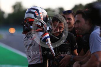 World © Octane Photographic Ltd. Formula 2 – Italian GP - Race 1. Nyck De Vries - ART Grand Prix. Autodromo Nazionale Monza, Monza, Italy. Saturday 7th September 2019.