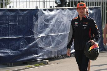 World © Octane Photographic Ltd. Formula 1 – Italian GP - Paddock. Aston Martin Red Bull Racing RB15 – Max Verstappen. Autodromo Nazionale Monza, Monza, Italy. Saturday 7th September 2019.