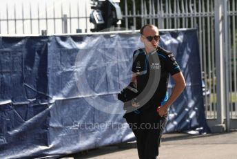 World © Octane Photographic Ltd. Formula 1 – Italian GP - Paddock. ROKiT Williams Racing FW42 – Robert Kubica. Autodromo Nazionale Monza, Monza, Italy. Saturday 7th September 2019.