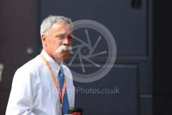 World © Octane Photographic Ltd. Formula 1 - Italian GP - Paddock. Chase Carey - Chief Executive Officer of the Formula One Group. Autodromo Nazionale Monza, Monza, Italy. Thursday 4th September 2019.