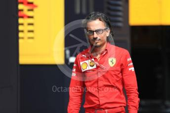 World © Octane Photographic Ltd. Formula 1 - Italian GP - Paddock. Laurent Mekies – Sporting Director of Scuderia Ferrari. Autodromo Nazionale Monza, Monza, Italy. Thursday 4th September 2019.