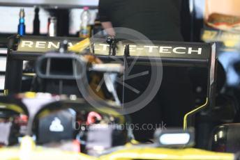 World © Octane Photographic Ltd. Formula 1 – Italian GP - Paddock. Renault Sport F1 Team RS19. Autodromo Nazionale Monza, Monza, Italy. Thursday 4th September 2019.