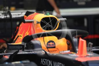 World © Octane Photographic Ltd. Formula 1 – Italian GP - Pit Lane. Aston Martin Red Bull Racing RB15. Autodromo Nazionale Monza, Monza, Italy. Thursday 4th September 2019.
