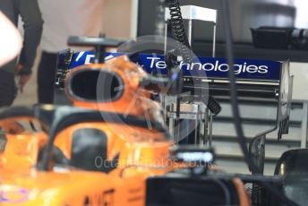 World © Octane Photographic Ltd. Formula 1 – Italian GP - Pit lane. McLaren MCL34. Autodromo Nazionale Monza, Monza, Italy. Thursday 4th September 2019.